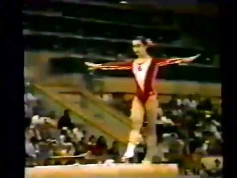 1980 Olympics gymnastics, ROM & USSR W 1A & 1B