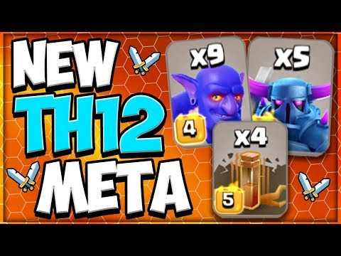 TH 12 PEKKA Bowlers Earthquake | New TH 12 Attack Strategy In Clash Of Clans
