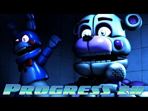 SFM/FNAF| My Progress #2 |Afton Family - KryFuZe (Russel Saphire Remix)