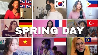 Who Sang It Better : BTS (방탄소년단) – SPRING DAY (uk,germany,france,vietnam,turkey,philippines)