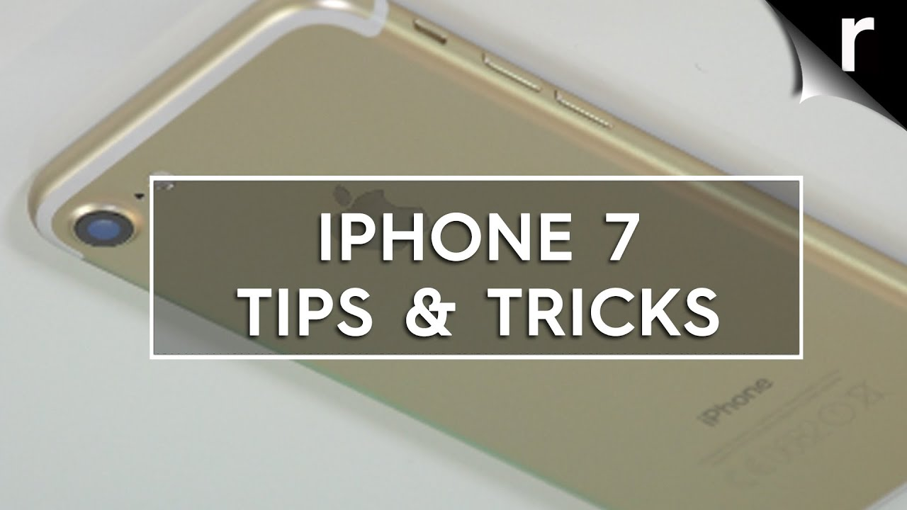 Iphone 7 Tips And Tricks Best Hidden Features Youtube