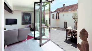 Sliding folding doors from Reynaers at Home
