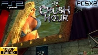 WWE Crush Hour - PS2 Gameplay 1080p (PCSX2)