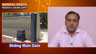 Placement of main gate in north-east direction of house . VASTU SHASTRA