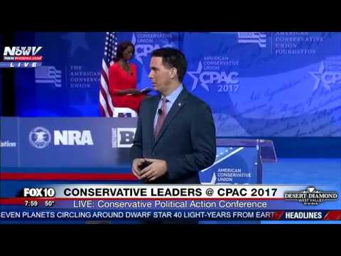 FNN: Wisconsin Gov. Scott Walker Speaks at CPAC 2017