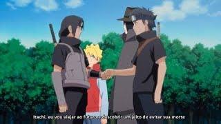 Sasuke leva Shisui ao futuro para evitar a morte de Itachi - Boruto: Naruto Next Generations