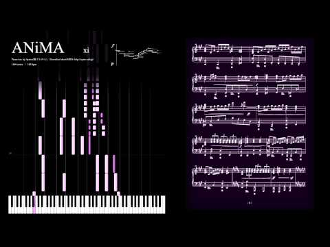 [Deemo 2.0] ANiMA / xi  (Piano Version) / ピアノ楽譜で ANiMA