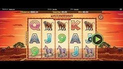 314 - BIG WIN! Savannah Sunrise Slot Game - #casino #slot #onlineslot #казино
