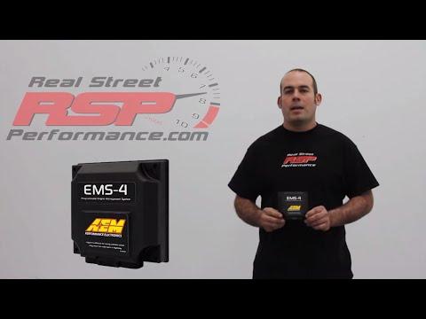AEM EMS4 Universal Standalone ECU REAL STREET PERFORMANCE
