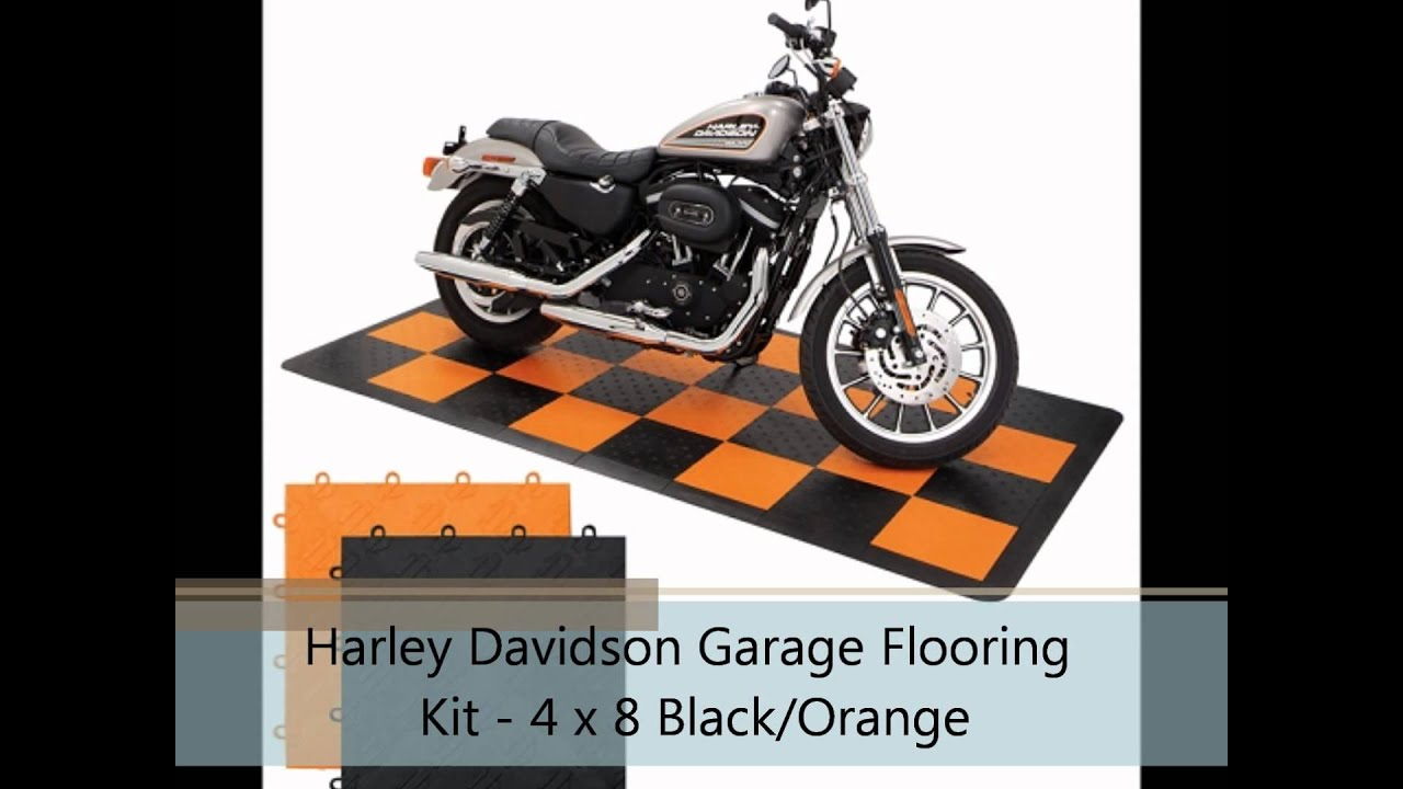 Harley Davidson Garage Flooring Kit