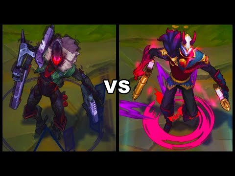 PROJECT Jhin vs Blood Moon Jhin Best Jhin Skins Comparison (League of Legends)