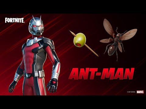 New ANT-MAN Skin in Fortnite! (Season 5) - Typical Gamer