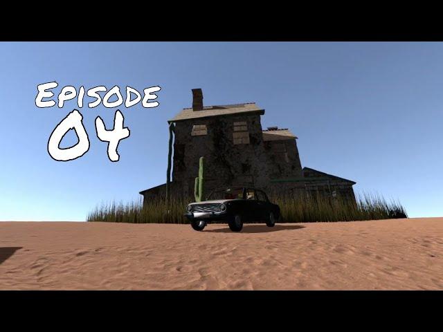 CREEPY Abandoned House - The Long Drive Episode 04