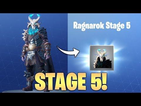 Fortnite *UNLOCKING* STAGE 5 Ragnarok In Fortnite - Final Stage Unlocked
