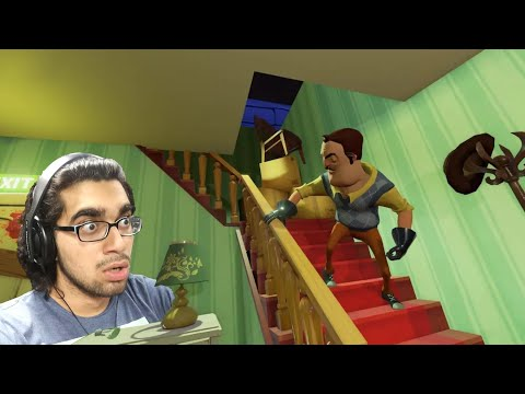 Repeat Hello Neighbor ~ SCARY MYSTERY ESCAPE GAME !! #1 by