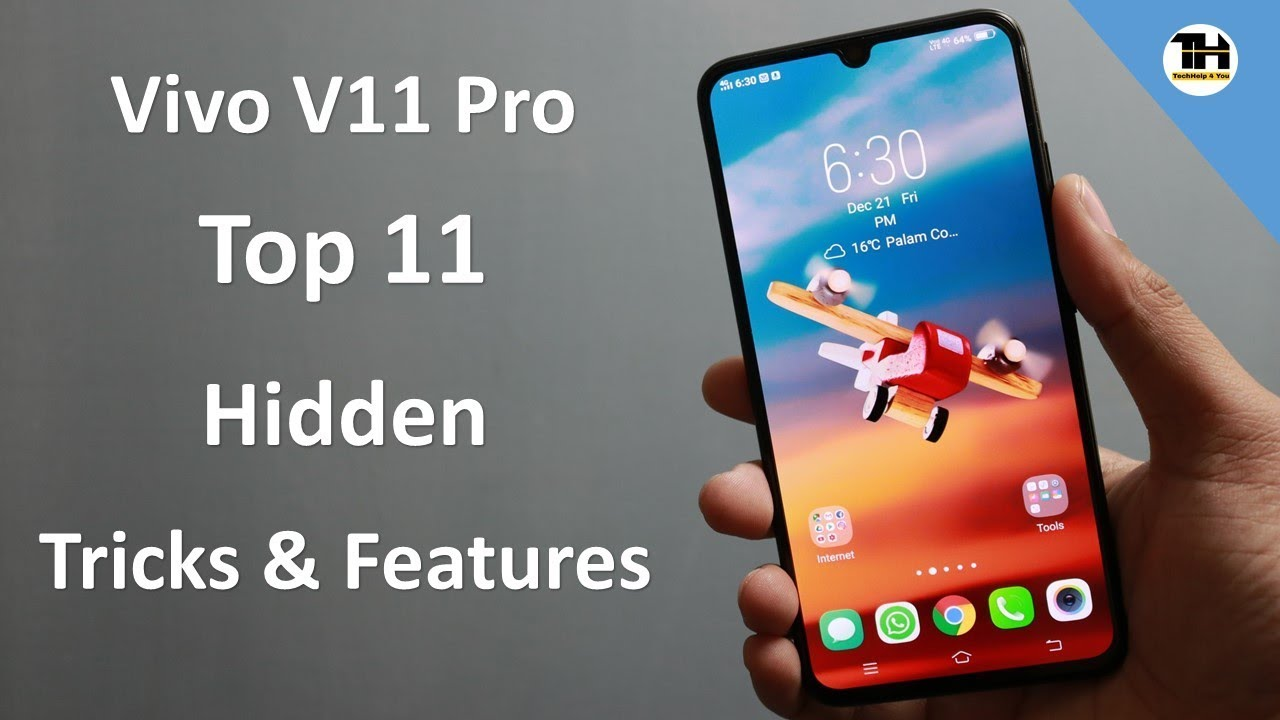 Vivo V11 pro Top 11 Hidden and Interesting Features/Tricks in Hindi