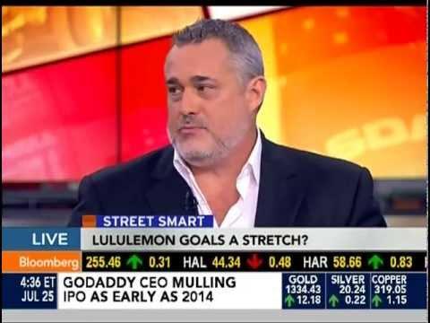 Jeffrey Hayzlett Bloomberg Street Smart Lululemon
