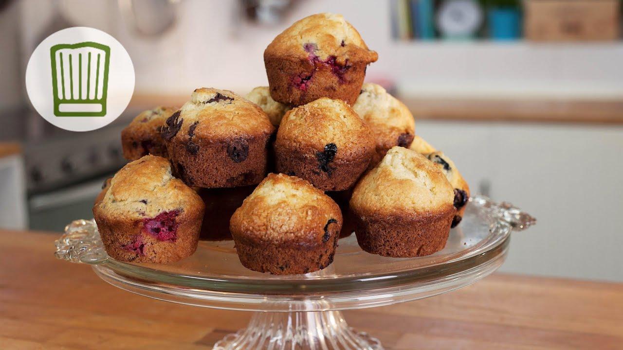 Muffins Fluffig Fruchtig Locker Lecker Chefkoch Youtube