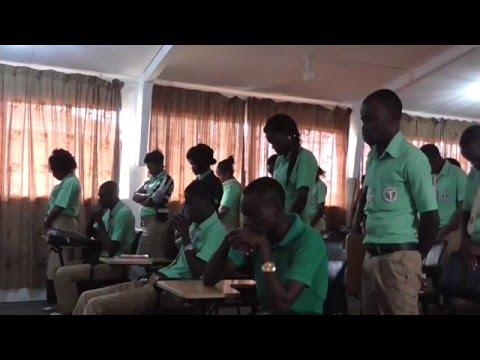 Évangélisation dans une école de commerce - (Port-Gentil / Gabon)