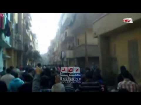 رصد | قمع قوات الانقلاب لمسيرة بني سويف الرافضة للانقلاب العسكري