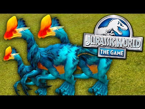 NOVO TERIZINOSSAURO LEVEL 40! - Jurassic World - O Jogo - Ep 345