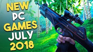 Top 5 NEW PC Games Coming in JULY 2018!