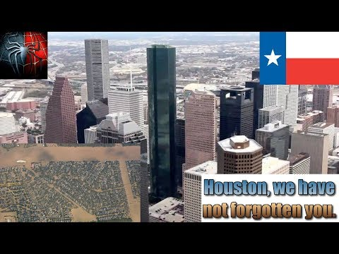 Paying Tribute & Respect To Citizens Of Houston, Texas