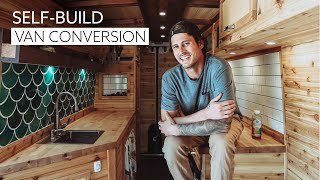 IMPRESSIVE Van Conversion With STUNNING BAMBOO INTERIOR // How VanLife Helped Beat Depression & PTSD