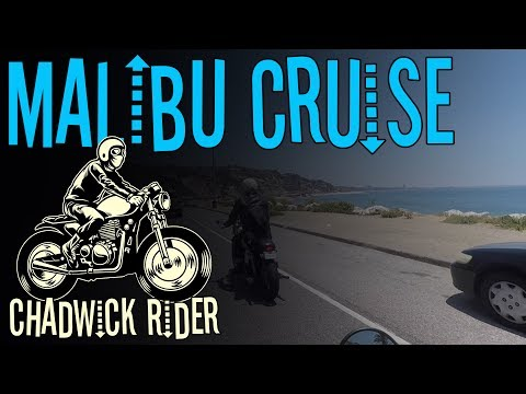 Triumph Bonneville T120 & T100 Coastline Cruise to Malibu California