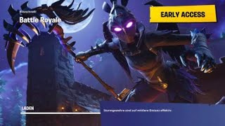 Fortnite battle royale with the new wolf skin epic victory