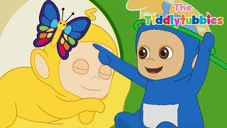 Teletubbies ★ NEW Tiddlytubbies 2D Series! ★ Episode 7: Runaway Butterfly ★ Cartoons for Kids