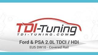 Ford & PSA 2.0L TDCI - HDI EU5 DW10 - Covered Rail