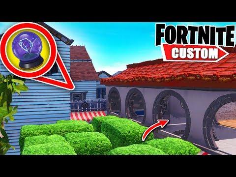 Fortnite IMPOSSIBLE Deathrun.. you NEED 2000 IQ to complete it! (Fortnite Creative Mode)