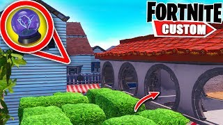Fortnite IMPOSSIBLE Deathrun.. you NEED 2000 IQ to complete it! (Fortnite Creative Mode)