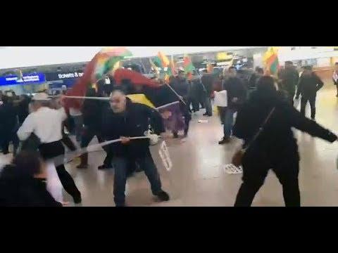 Hannover-Langenhagen: Karate-Sprünge und Tränengas – Türken und Kurden prügeln aufeinander los