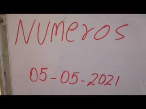Números para 05/05/2021 tica, Nica, domi, Honduras y NY