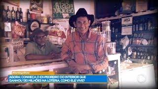 Conheça o pedreiro que ganhou R$ 130 milhões na loteria