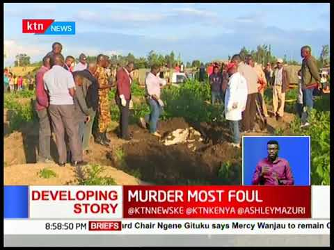 Murder Most Foul: Police discover three bodies believed to be of Joyce Syombua & her children