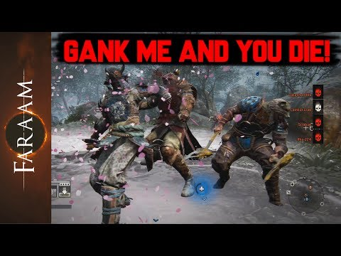 Gank me and you die - For Honor