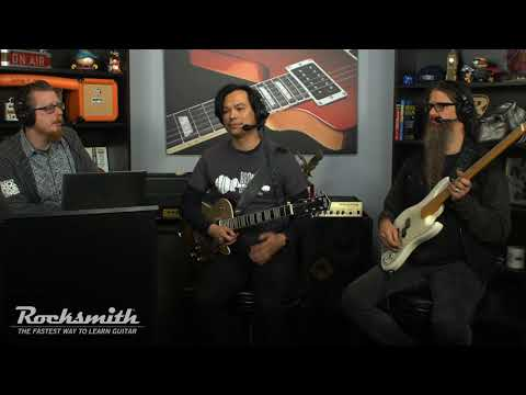 Rocksmith Remastered - 90s Mix Song Pack VI - Live from Ubisoft Studio SF