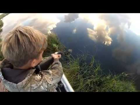 SWAMPKID'Z Gator Hunting 11yr old and 8yr old