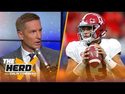 Joel Klatt talks CFB playoff format, Alabama vs Oklahoma and Clemson vs Notre Dame | CFB | THE HERD