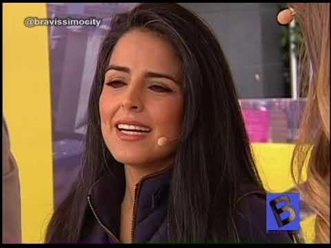 Claudia palacios en la webcam