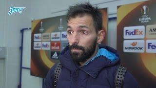 Данни на «Зенит-ТВ»: «Мы должны сконцентрироваться на чемпионате и выиграть его»