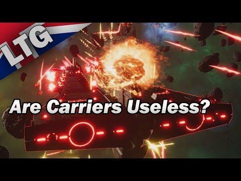 Are Carriers Useless? Battlefleet Gothic Armada 2 |