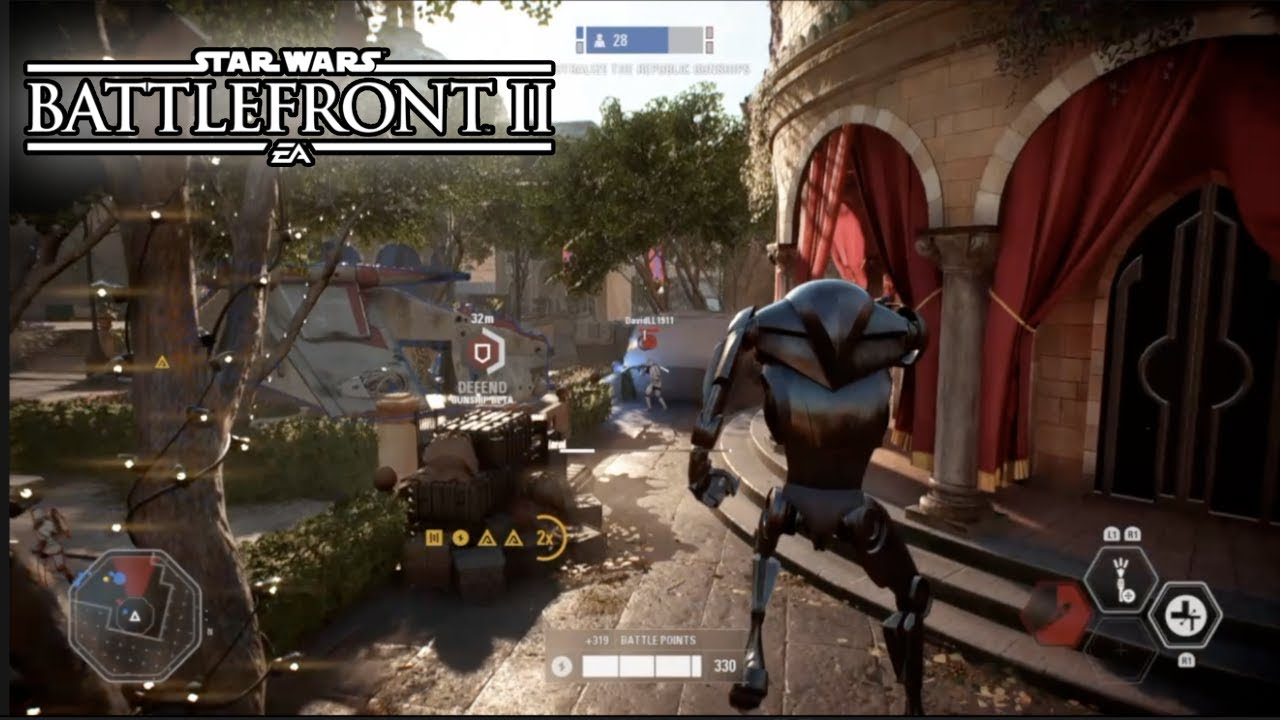 strike on naboo theed star wars battlefront 2 multiplayer gameplay ps4 youtube. Black Bedroom Furniture Sets. Home Design Ideas