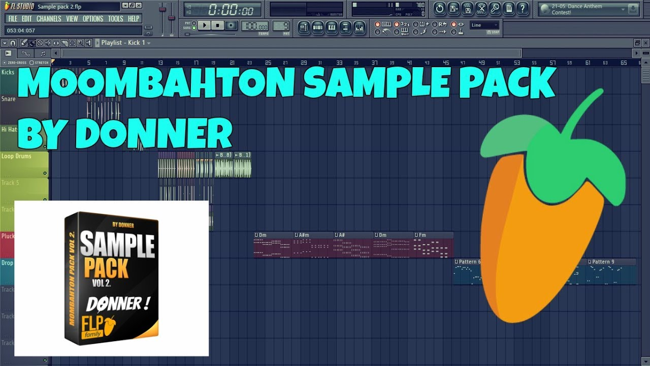 Moombahton Sample Pack Vol. 2 By Donner (FREE DOWNLOAD) - YouTube