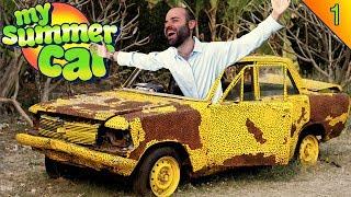 ESTE JUEGO ES UNA LOCURA!! | MY SUMMER CAR Gameplay Español
