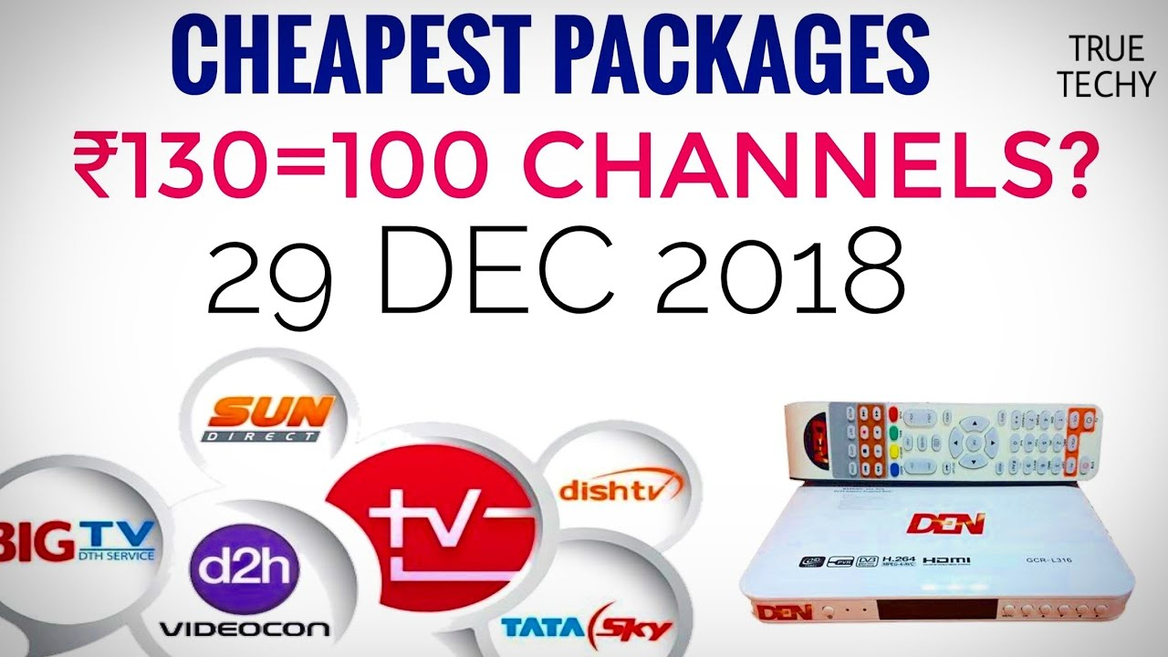 Dthcable Tv New Rule By Trailowest Price Package 100 Channel In