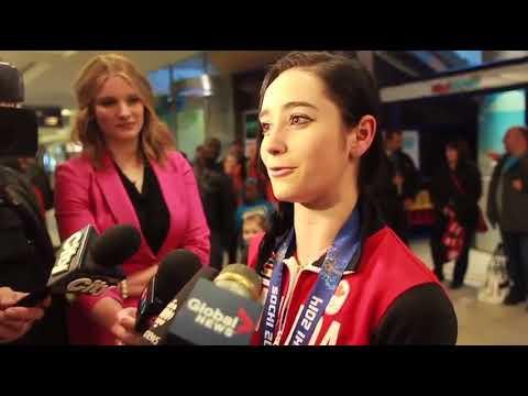 RAW: Olympian Kaetlyn Osmond returns from Sochi